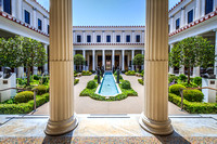 The Beautiful Architecture and Landscaping of the Getty Villa, Malibu, CA