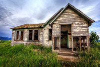 The Abandoned School House in Swan Valley