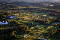 Saratoga National Golf Course from Above