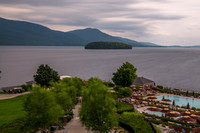 Lake George from the Sagamore