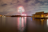 Happily Ever After Fireworks from Disney's Polynesian Village Resort, Walt Disney World
