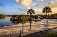 View from the Disney's Polynesian Village Resort King Kamehameha Club Lounge, Walt Disney World