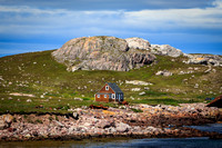 House on L'Île aux Marins,  French Overseas Collectivity of St. Pierre and Miquelon
