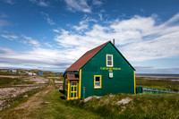 Building on L'Île aux Marins, French Overseas Collectivity of St. Pierre and Miquelon