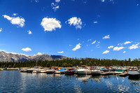 Colter Bay Marina, Grand Teton National Park, Wyoming
