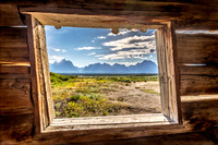 Cunningham Cabin, Grand Teton National Park, Wyoming
