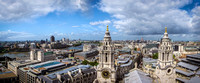 View of London from St. Paul's Cathedral