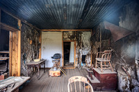 Abandoned Barber Shop, Bodie Ghost Town