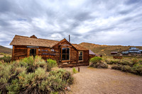 Remains of Bodie Ghost Town