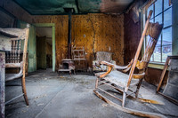 Abandoned Living Room at Bodie Ghost Town