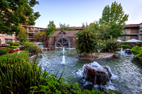 An Idyllic Scene at the Hilton Embassy Suites, Napa Valley, CA