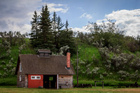 Blacksmith Shop, Bar U Ranch National Historic Site, Alberta