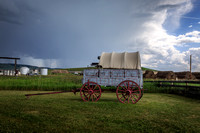 Chuckwagon at Bar U Ranch National Historic Site, Alberta