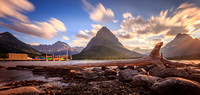 Swiftcurrent Lake Shore, Glacier National Park