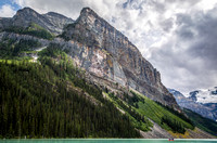 Fairview Mountain from Lake Louise, Banff National Park