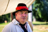 Puppeteer Eric Olsen at 18th Century Day, General Philip Schuyler House