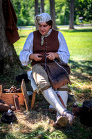 Shoemaker at 18th Century Day, General Philip Schuyler House