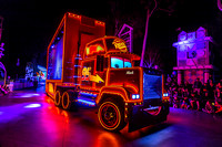Mack Truck, Paint the Night Parade, Disneyland, California