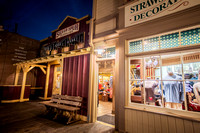 Shops, Frontierland, Disneyland, California