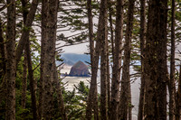 Haystack Rock from Ecola State Park, OR