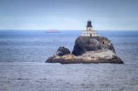Tillamook Rock Light from Ecola State Park, OR