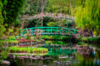 Japanese Bridge, Gardens of Claude Monet, Giverny, France