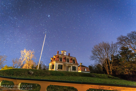 Stars Over the Penniman House, Eastham, Cape Cod