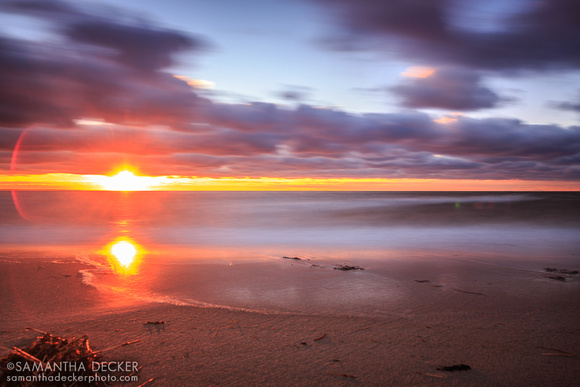 Sunset at First Encounter Beach, Eastham, Cape Cod