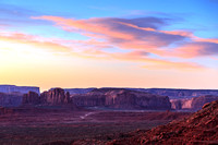 Pre Dawn Twilight, Monument Valley