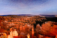 Starry Night Over Bryce Canyon