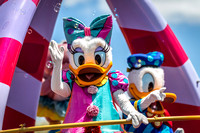 Daisy and Donald, Festival of Fantasy Parade, Magic Kingdom