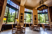 Solarium at the Ahwahnee, Yosemite National Park