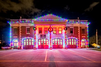 Lake Avenue Fire Department Dressed up for the Holidays